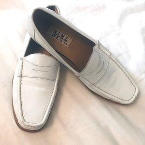 EUC Nine West Leather Loafer